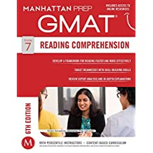 GMAT Reading Comprehension (Manhattan Prep GMAT Strategy Guides Book 7) (English Edition)