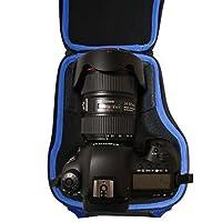 Alltravel DSLR 相机套兼容佳能 EOS 7D 6D 5D Mark II III IV 5DS R EF 24-105mm f/4 F4 L IS USM EF 24-70mm f/2.8L II USM DSLR 镜头套件,配有坚固的手柄和肩带