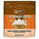 Jet 混合冰咖啡,冰冻白巧克力摩卡,每袋3磅(1.36kg)