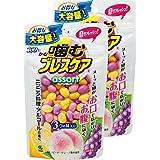 【量贩装】日本小林制药 清新口气 咀嚼丸 口香糖 三种口味 超值大容量100粒 × 2包 (200粒)