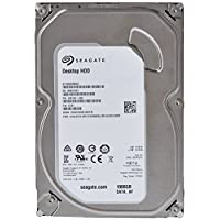Seagate 1TB Desktop HDD SATA 6Gb/s 64MB 缓存 3.5 英寸 机内裸露驱动器 (ST1000DM003)