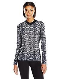 Craft Sportswear 女士混合搭配长袖打底衫:吸汗/凉爽/有氧运动/健身/运动/内衣/上衣