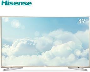 hisense 海信 LED49M5600UC 49英寸 4K超高清 曲面智能电视 浅玫瑰金