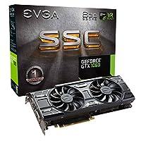 EVGA GeForce GTX 1060 游戏显卡 (06G-P4-6161-KR) 6GB