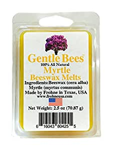 Gentle Bees Myrtle Beeswax Melts