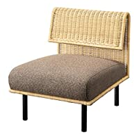 东谷(Azumaya-kk) 沙发 1人坐 宽60cm 棕色 沙发 NRS-501A