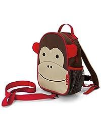 美国Skip Hop Zoo-let迷你背包(附防走失带)-猴子SH212203