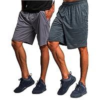 CYZ Collection CYZ 男士高性能跑步短裤健身短裤篮球短裤