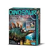 4M 考古探索系列 科学探索益智教育玩具 侏罗纪恐龙 剑龙