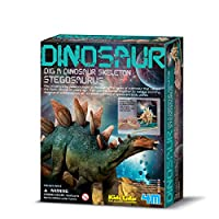 4M 考古探索系列 剑龙考古探索 侏罗纪恐龙 科学探索益智教育玩具 进口