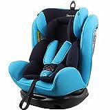 REEBABY 瑞贝乐 汽车儿童安全座椅ISOFIX 0-4-6-12岁婴儿宝宝新生儿可躺 906FIX蓝色(供应商直送)