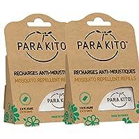 Para'Kito 帕洛驱蚊 法国原装进口 成人孕妇婴儿儿童户外驱蚊片补充装 (4芯片装) …
