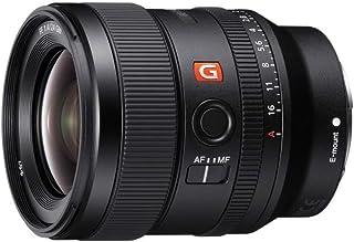 Sony 索尼 SEL-24F14GM G Master 广角镜头(24毫米,F1.4,全格式,适用于Alpha 9,Alpha 7,A6000,A5100,A5000和Nex 系列,E-Mount)黑色