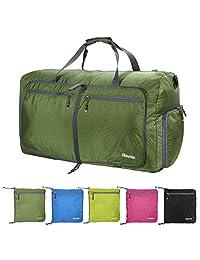 80L 大号行李袋 SIze 适合露营,可折叠轻质行李袋 防水,大号运动健身房行李袋 男女通用行李袋