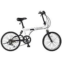 """HEAD(头) 折叠式自行车 Diesis(Diesis)[20"""" 外部6段变速 后悬架调整 折叠自行车] FDR-HE206R"""