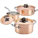 Ruffoni Opus Cupra 厨具 6 件套,铜