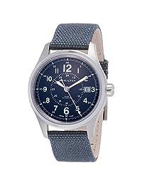 Hamilton H70305193 银色 40mm 不锈钢卡其色域自动男式手表