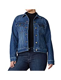 LEE 女式加大码标志性常规款夹克