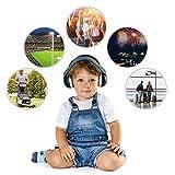 SilentGuard 婴儿听力保护装置,特别柔软 蓝色