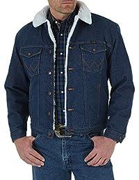 Wrangler Men's Sherpa Lined Denim Jacket