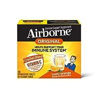 Schiff Airborne 橙味VC泡騰片,30片,1000毫克維生素C