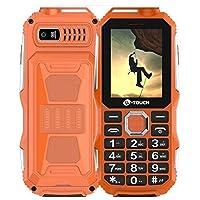 瑞龙自营 K-Touch/天语 T3军工三防老人手机大字大声移动老年直板手机 (橙色)