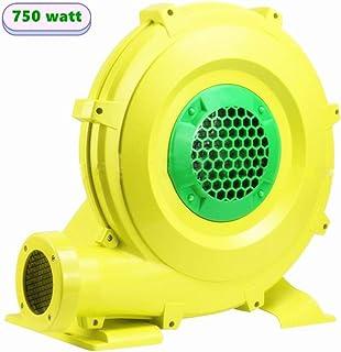 充气鼓风机 750 瓦 弹跳式房屋鼓风机 1 HP 充气城堡和跳台鼓风机 便携式强大充气鼓风机