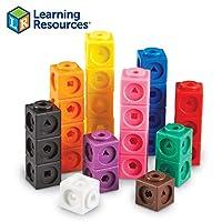 Learning Resources Mathlink积木 教育计数玩具 早期数学技能 100块套组(5岁+)
