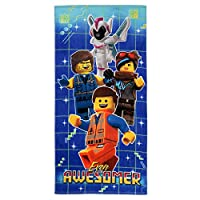 """Franco 海滩毛巾 Lego Movie 2 Even Awesomer 28"""" x 58"""" 418048"""