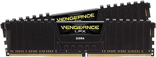 Corsair Vengeance LPX DDR4 XMP 2.0 高性能台式电脑 内存条 黑色 (2x16GB)