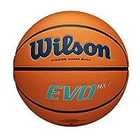 Wilson 男式 EVO NXT GAME BALL CHAMPIONS LEAGUE 篮球,橙色,官方