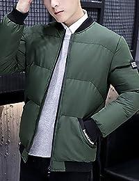 MPSMOVE 思慕夫 2018冬季款男士韩版简洁外套男修身男装夹克男棉衣男士KW255【12】