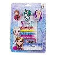 """冰雪奇缘 DARP-CFRO042 """"Disney Frozen""""迷你印章套装(15 件),多色"""