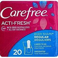 CAREFREE Acti-Fresh 塑身内裤无香型,22 支装