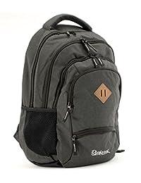 背包 Grand 学生背包/背包 35l 15, 6 英寸 笔记本电脑包 5 个拉链隔层 18R107-01, 46 厘米, 35 L, 午夜黑色