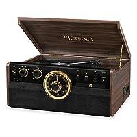 Victrola Empire 6 合 1 蓝牙录音播放器音乐中心 - Expresso