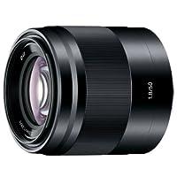 Sony 索尼 E 50mm F1.8 OSS (SEL50F18) 镜头 (标准定焦) (黑色)