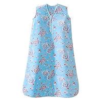 HALO 赫拉 婴儿安全睡袋 背心式 超细摇粒绒 水中花 L(12-18个月) 秋冬厚款