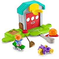 Fisher-Price Little People Big Helpers 车库