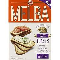 Old London,Bagel Chips,大蒜和*,5 盎司(12 件装) Melba Toasts 4.5 盎司