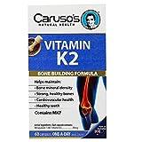 Caruso's 维生素K2钙吸收片60片/瓶 促进钙吸收预防骨质疏松增强骨密度 澳大利亚品牌 包邮包税