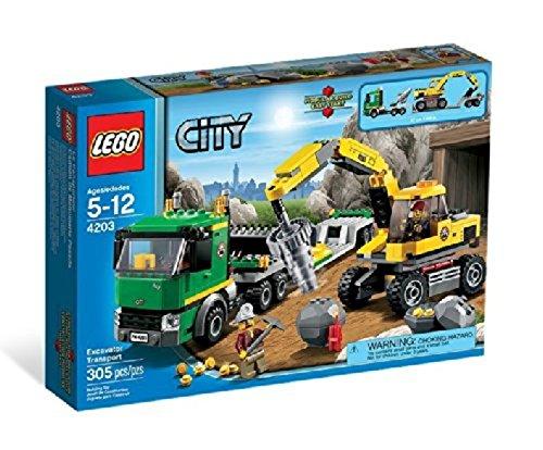 LEGO 乐高 城市系列 挖掘机运输 4203