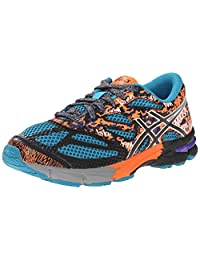 ASICS Gel Noosa Tri 10 GS Triathlon Shoe (Little Kid/Big Kid) Enamel Blue/Black/Orange 1 M US Little Kid
