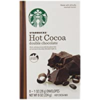 Starbucks Hot Cocoa Mix, Double Chocolate, 8 Ounce
