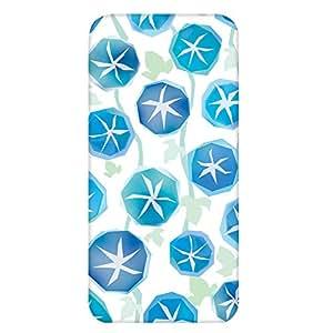 智能手机壳 透明 印刷 对应全部机型 cw-1141top 套 朝顔 花朵图案 花 花 UV印刷 壳WN-PR416524 ARROWS M03 图案 A
