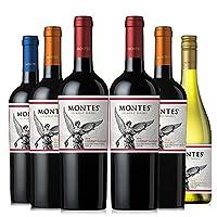 Montes 蒙特斯 经典系列葡萄酒6瓶组合装 750ml*6瓶