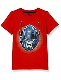 Hasbro 孩之宝 男童 针织短袖T恤 KFA8M2KTKB1812RR