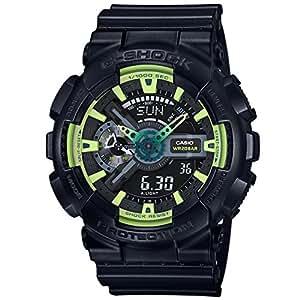 G-Shock GA110LY-1A 运动版Illumi系列手表 - 黑色/均码