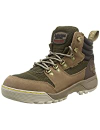 Dr. Martens Unisex Adults' Rapid S1P Safety Shoes, Brown (Otter Brown+Dark Brown/Industrial Olive 218), 9 43 EU