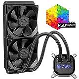 EVGA艾维克 CLC 120 CPU水冷散热器 RGB LED Cooling 400-HY-CL12-V1 280mm
